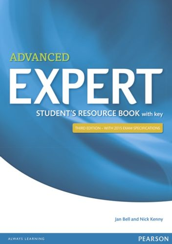 9781447980605 Expert Advanced 3rd Edition Student's Resource Book with Key