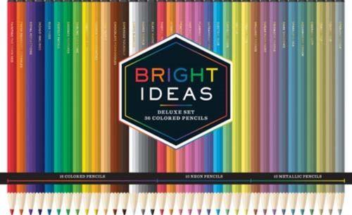 9781452159768 Bright Ideas Deluxe Colored Pencil Set