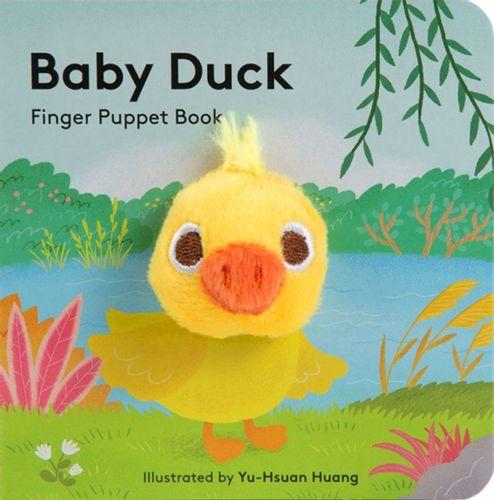 9781452163734 Baby Duck: Finger Puppet Book