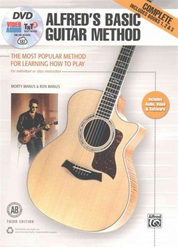 9781470631406 ALFRED'S BASIC GUITAR METHOD 3RD EDITION