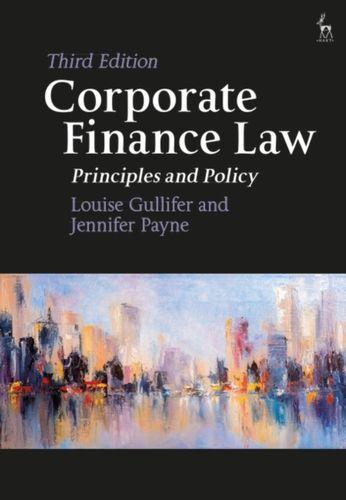 9781509929177 Corporate Finance Law