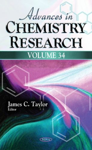 9781536104684 Advances in Chemistry Research