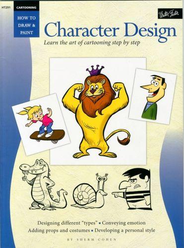 9781560109679 Cartooning: Character Design