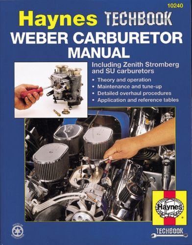9781563921575 Weber/Zenith Stromberg/Su Carburetor Manual