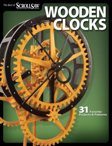 9781565234277 Wooden Clocks