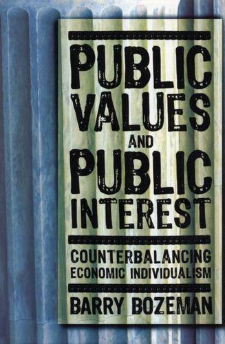 9781589011779 Public Values and Public Interest