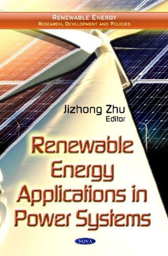 9781614707981 Renewable Energy Applications in Power Systems