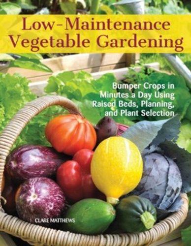 9781620082478 Low-Maintenance Vegetable Gardening