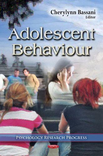 9781621007005 Adolescent Behaviour