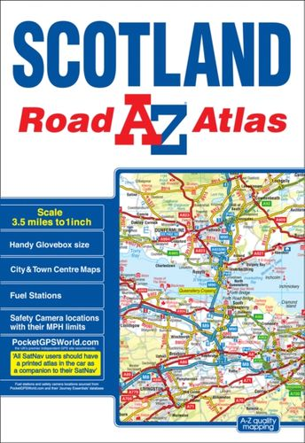 9781782571353 Scotland Road Atlas