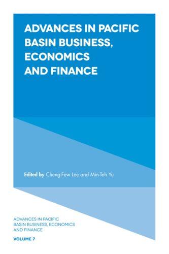 9781789732863 Advances in Pacific Basin Business, Economics and Finance