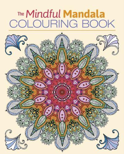 9781839400094 Mindful Mandala Colouring Book
