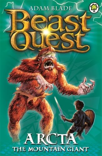 9781846164842 Beast Quest: Arcta the Mountain Giant