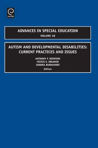 9781848553569 Autism and Developmental Disabilities
