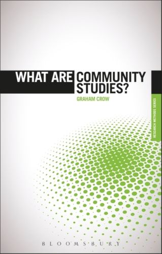 9781849665957 What are Community Studies?