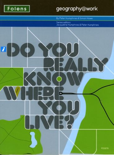 9781850083078 Geography@work1: Do You Really Know Where You Live? Teacher CD-ROM