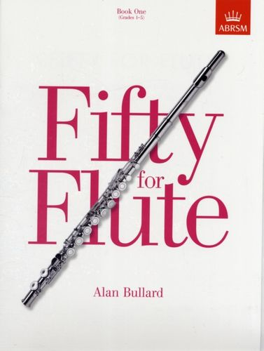 9781854728661 Fifty for Flute, Book One