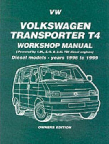 9781855206809 Volkswagen Transporter T4 Workshop Manual Owners Edition