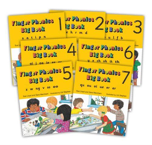 9781870946940 Finger Phonics Big Books 1-7