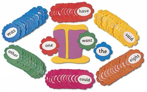 9781903619117 Jolly Phonics Tricky Word Wall Flowers