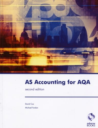 9781905777143 AS Accounting for AQA