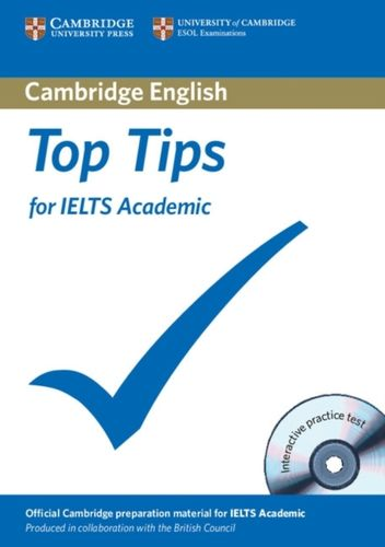 9781906438722 Top Tips for IELTS Academic Paperback with CD-ROM