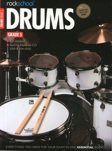 9781908920232 Rockschool Drums Grade 5 (2012-2018)