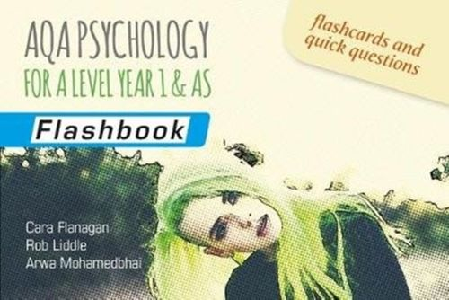 9781911208402 AQA Psychology for A Level Year 1 & AS: Flashbook