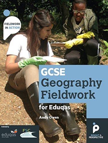 9781912190027 GCSE Geography Fieldwork Handbook for Eduqas