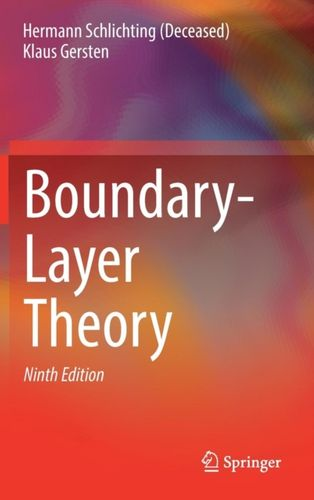 9783662529171 Boundary-Layer Theory