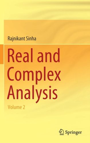 9789811328855 Real and Complex Analysis
