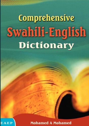 9789966258120 Comprehensive Swahili-English Dictionary