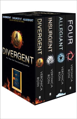 9780007591374 Divergent Series Box Set (books 1-4 plus World of Divergent)