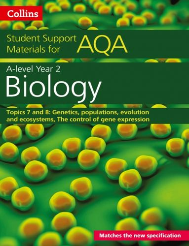 9780008189488 AQA A level Biology Year 2 Topics 7 and 8