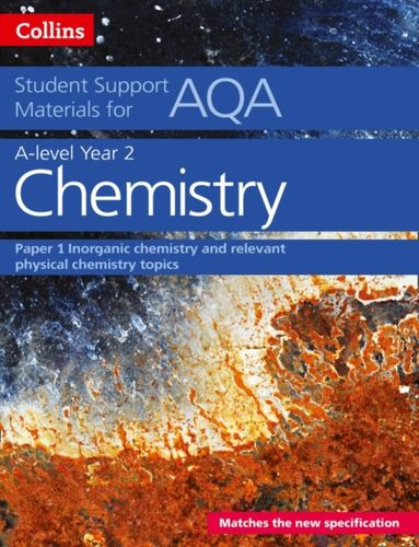 9780008189501 AQA A Level Chemistry Year 2 Paper 1