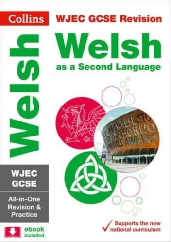 9780008227463 GCSE Welsh Second Language WJEC Complete Practice and Revision Guide with free online Q&A flashcard download