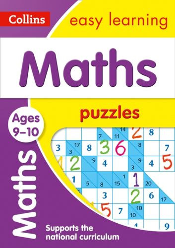9780008266066 Maths Puzzles Ages 9-10