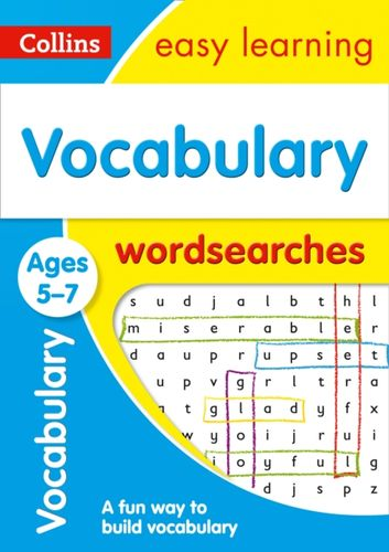 9780008275396 Vocabulary Word Searches Ages 5-7