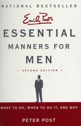 9780062080417 Essential Manners for Men