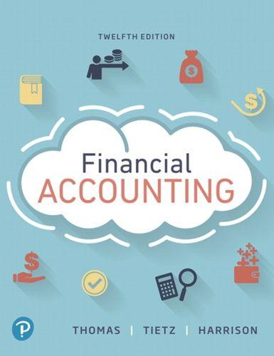 9780134725987 Financial Accounting