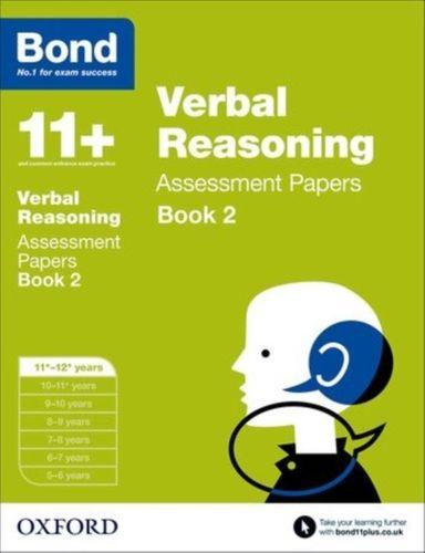 9780192740380 Bond 11+: Verbal Reasoning: Assessment Papers