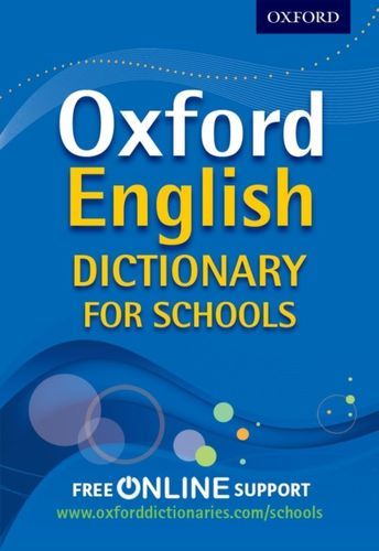 9780192756985 Oxford English Dictionary for Schools