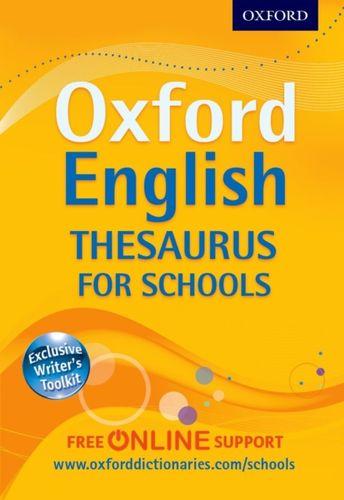 9780192757005 Oxford English Thesaurus for Schools