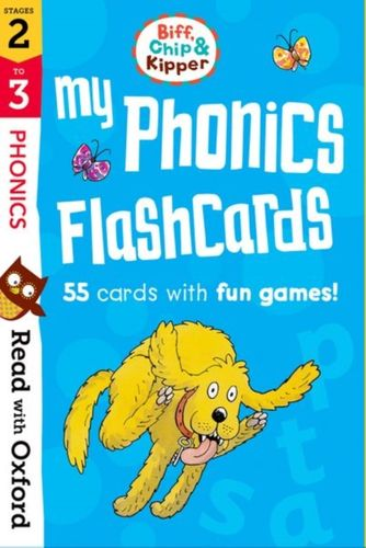 9780192764355 Read with Oxford: Stages 2-3: Biff, Chip and Kipper: My Phonics Flashcards