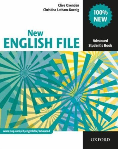 9780194594585 New English File: Advanced: Student's Book