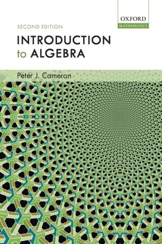 9780198527930 Introduction to Algebra