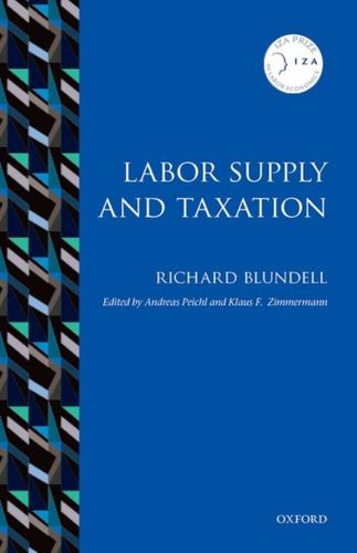9780198749806 Labor Supply and Taxation