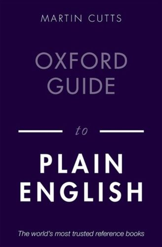 9780198844617 Oxford Guide to Plain English