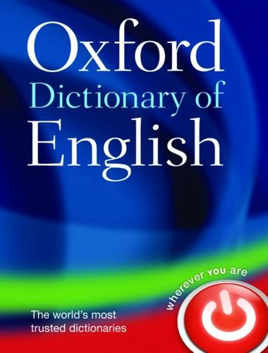 9780199571123 Oxford Dictionary of English