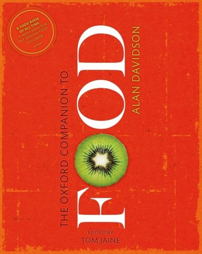 9780199677337 Oxford Companion to Food